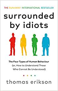 surrounded by idiots book